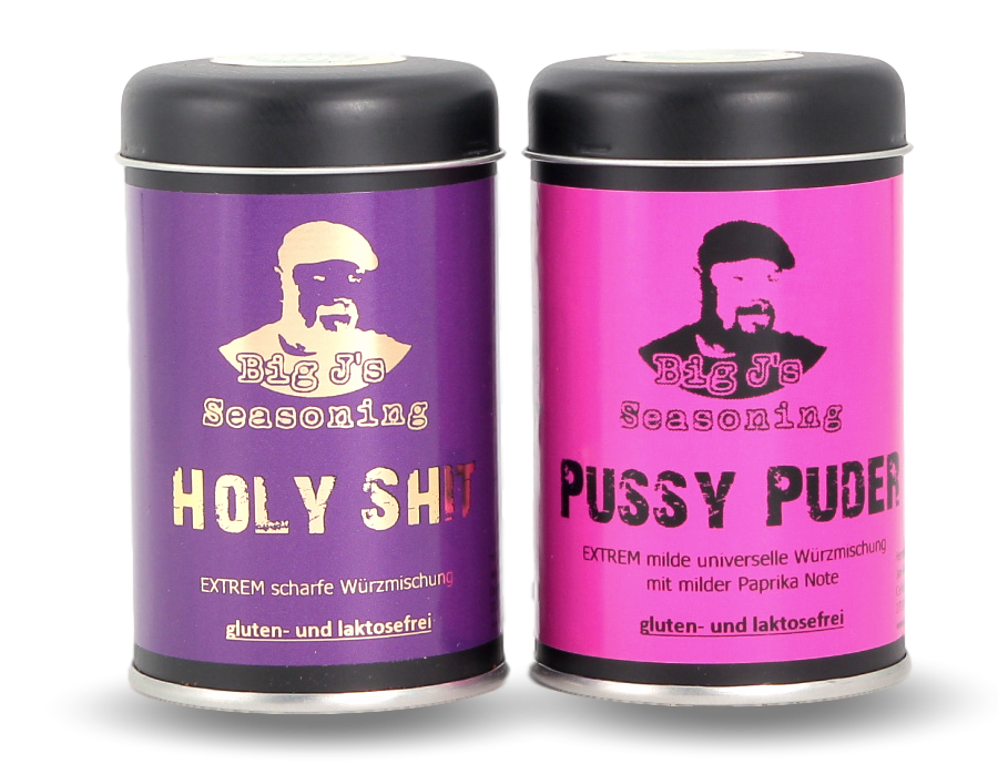 Holy Shit-Pussy Puder Set